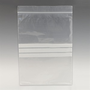 Premium Resealable Bags with Writing Panel (Grip Seal Bags)