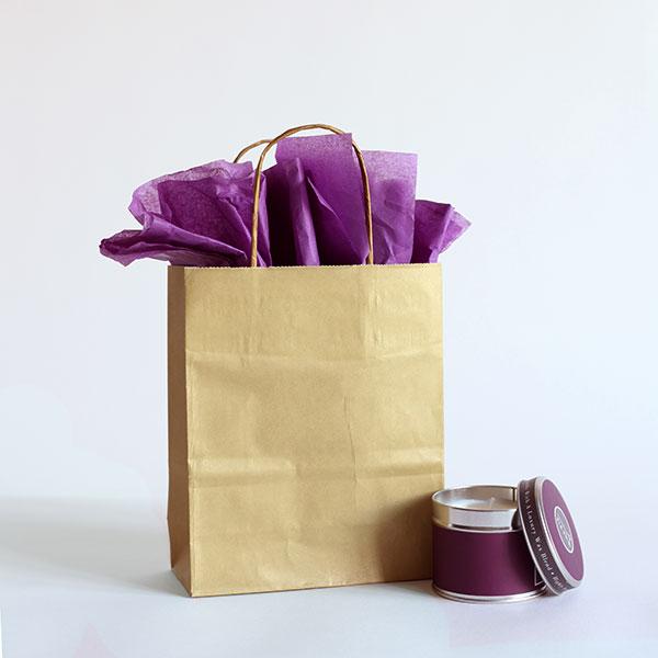 premium papiertragetaschen mit kordelgriffen gold rocaba verpackung. Black Bedroom Furniture Sets. Home Design Ideas